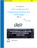 Cover for Proceedings of First Conference for Engineering Sciences and Technology: Vol. 1