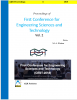 Cover for Proceedings of First Conference for Engineering Sciences and Technology: Vol. 2